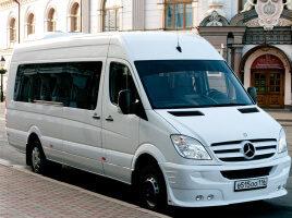 Трансфер в Казани на микроавтобусе Mercedes-Benz Sprinter
